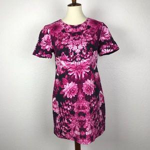 Michael Michael Kors Floral Lined Shift Dress